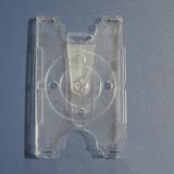 50 Portacredencial Acrilico Transparente Vertical U Horizont