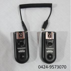 Radio Trigger Rf-603n Para Nikon Como Nuevos Minimo Uso