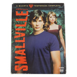 Box Dvd Smallville 4a Temporada 6 Discos Original