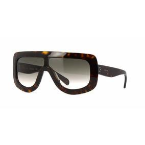 Óculos Celine Shadow Tartaruga. - Óculos no Mercado Livre Brasil bee9502de5