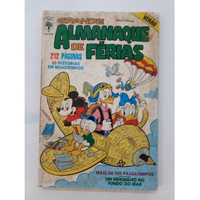 Grande Almanaque De Férias - Disney - Verão