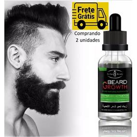 Cresce Barba Bigode Pelo Cabelo 30ml Pronta Entrega
