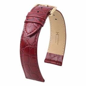 Correa Para Reloj Hirsch Crocograin 12302860-1-14 Piel
