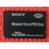 Cartao Memoria Memory Stick Pro Duo Sony Original 256mb