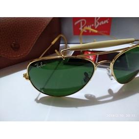 081ac4f2c7187 Oculos Ray Ban Antigo Com Aste De Mola Sol Aviator - Óculos no ...