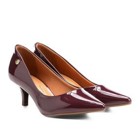Sapato Scarpin Salto Baixo Vizzano Original - Kit 2 Pares