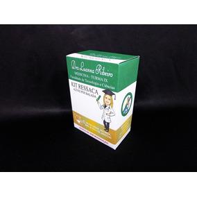 30 Kit Ressaca Box Formatura Verde Dourado
