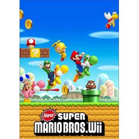 Poster Cartaz Jogo New Super Mario Bros #c - 30x42cm