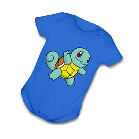 Body Infantil Bebê Squirtle Pokemon Bori Anime Mangá B019ar fccd88efefa