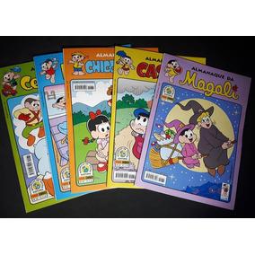 Lote C/34 Revistas Gibi Almanaque Turma Da Mônica - Novas