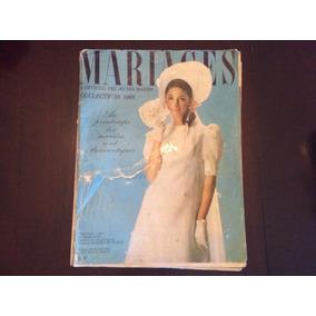 Revista Mariages - 1968 - Raridade - Importada - Ver Fotos
