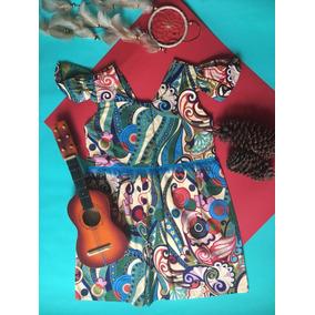 Vestido Floral Agogo Mandalas 4-5 Años