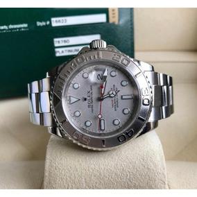 cda92ac061d Relogio Rolex Yacht Master Platina - Relógios De Pulso