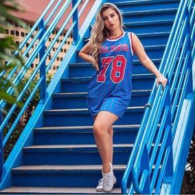 T-shirts Camiseta Vestido Vest Leg Girl Power Basquete fd95b9e3e8e8a