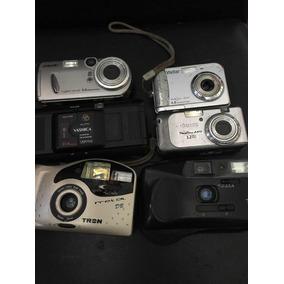 Lote Com 6 Máquinas Fotográficas