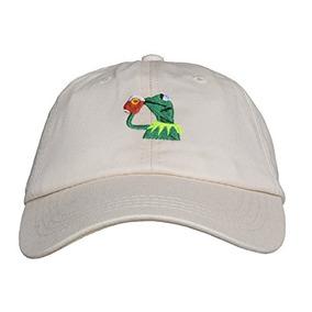 Marthasky Kermit The Frog Sipping Tea Ajustable Strapback