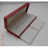 Estuche Original Cartier P/pluma Con Instructivos # 0 2103