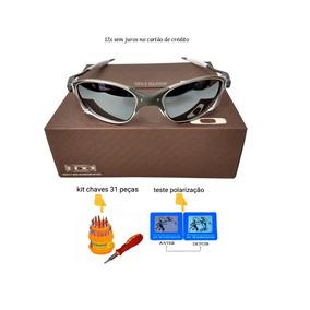 Oculo Sol Oakley Juliet Original Prata Lente Espelhada De - Óculos ... e9bf53c4d1