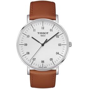 Reloj Tissot Everytime Large T1096101603700 Piel Café Hombre