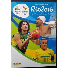 Album Ilustrado Oficial Olimpiadas Rio 2016 Panini Capa Dura