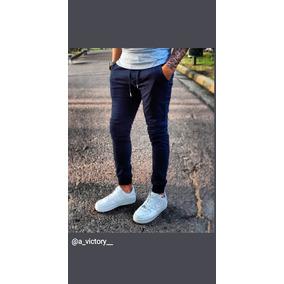 f396f05f4cf Pantalones Jogger Gabardina Hombre - Ropa y Accesorios Azul en ...