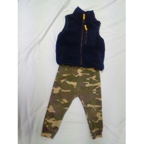 Chaleco Carter s Y Pantalon Camuflaje Zara. La Segunda Bazar 2c180ca0abc