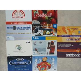 Cartão Telefônico Diversos 047(30 Cartões)