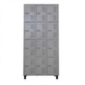 Guarda Volumes Aço 12 Portas Pequenas 198x90x41 Metalponta