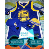 Kd Kevin Durant L Camiseta Jersey Nba Golden State Warriors
