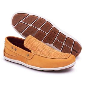 4baa5bba64 Sapato Mocassim Feminino Mocassins - Sapatos Laranja no Mercado ...