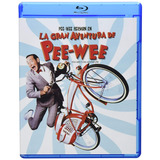 La Gran Aventura De Pee Wee Tim Burton Película Bluray