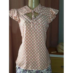 e434f1eecb Uniforme Para Escritorio Feminino Manga Curta - Camisetas e Blusas ...