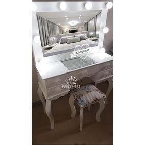 Camarim Completa+led+instalação Pronta+espelho+vidro+banco!