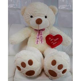 22f2eb2639 Urso De Pelucia Com Frase De Amor - Pelúcias de Animais no Mercado ...