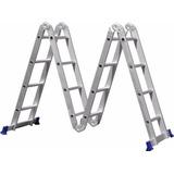 Escada Multifuncional (4x4) 16 Degraus Mor 005132 Alumínio