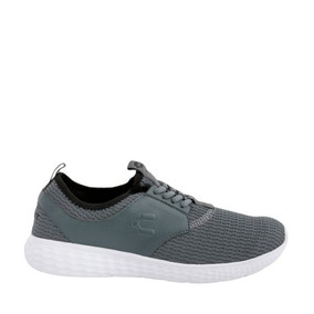 Tenis Casual Charly Hombre Gris Tallas 25-29 Ps_182694