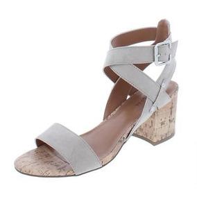 Mujer Tacon Mercado Zapatos Medio En Sandalia Libre Para Yf7bgvy6