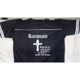 Racionais - Camisa De Poliéster ( Ótima Qualidade )