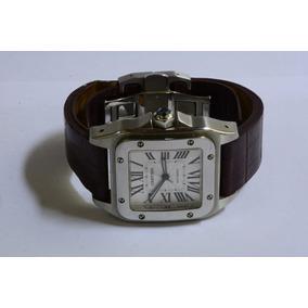 e314e81892f Relogio Cartier Santos 100 Xl - Relógios De Pulso no Mercado Livre ...