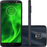 Smartphone Motorola Moto G6 Plus 64gb Xt1926 Índigo Novo