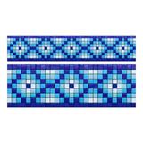 Cenefa De Mosaico Veneciano Tribal-03