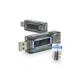 Testador Digital Porta Usb Medidor Voltagem Teste Amperagem