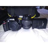 Camara Nikon D5100 Mas Tripode