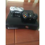 Xbox 360 + 2 Palancas +5 Juegos Físicos