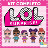 Kit Imprimible Lol Surprise Cotillón Envio Inmediato 2x1