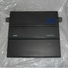 Maquina De Escrever Elétrica Olivetti Praxis 201- I I Leia