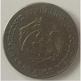 Moneda Con Giro De 50 Centavos Colombianos De Los 50