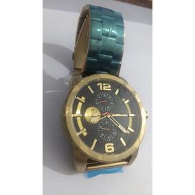Relógio Chillibeans Dourado Grande Top