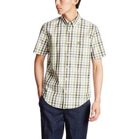 Camisa Lacoste Manga Corta Talle 38 (s) 100% Nueva Original a44f62c30f