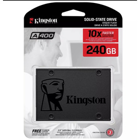 Ssd Kingston 240gb Ssdnowa400 Sata 3 6gb/s 500mb/s +nfe